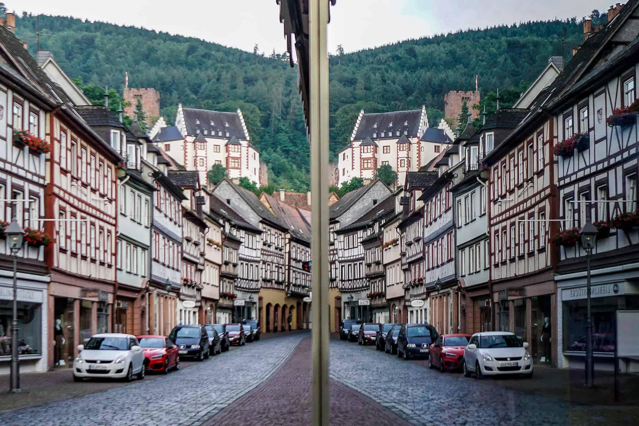 Spiegelung Altstadt Miltenberg