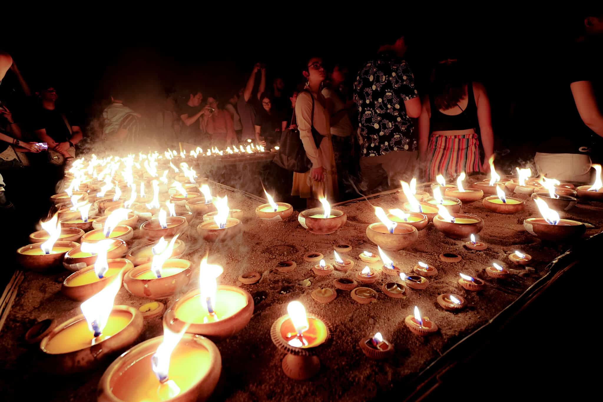 Kerzen Wat Phan Tao