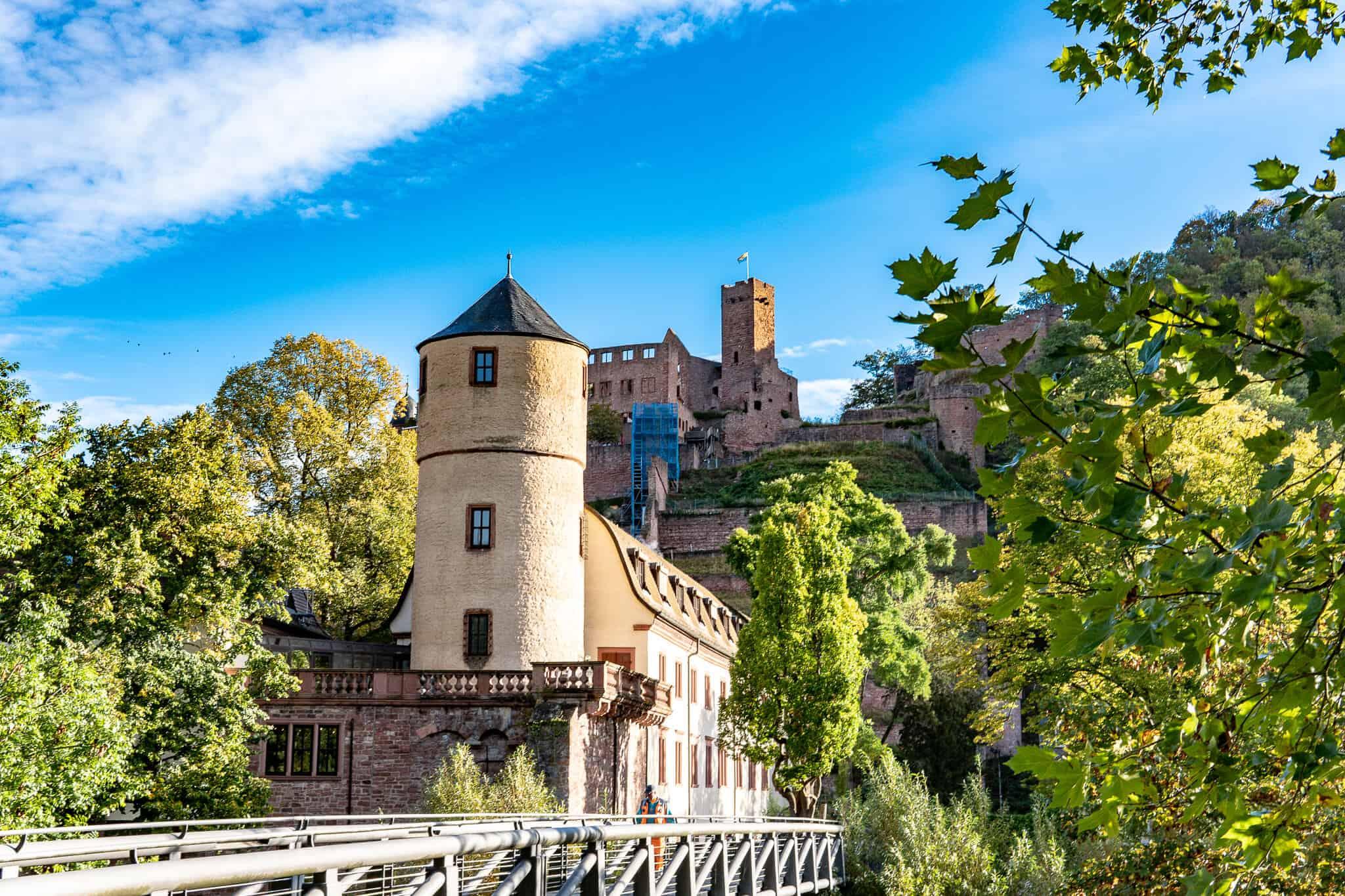 Weisser Turm und Burg Wertheim