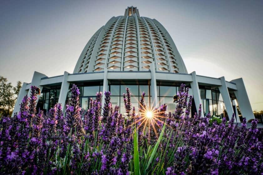 Das Bahá'í-Haus der Andacht von Europa - Barbaralicious