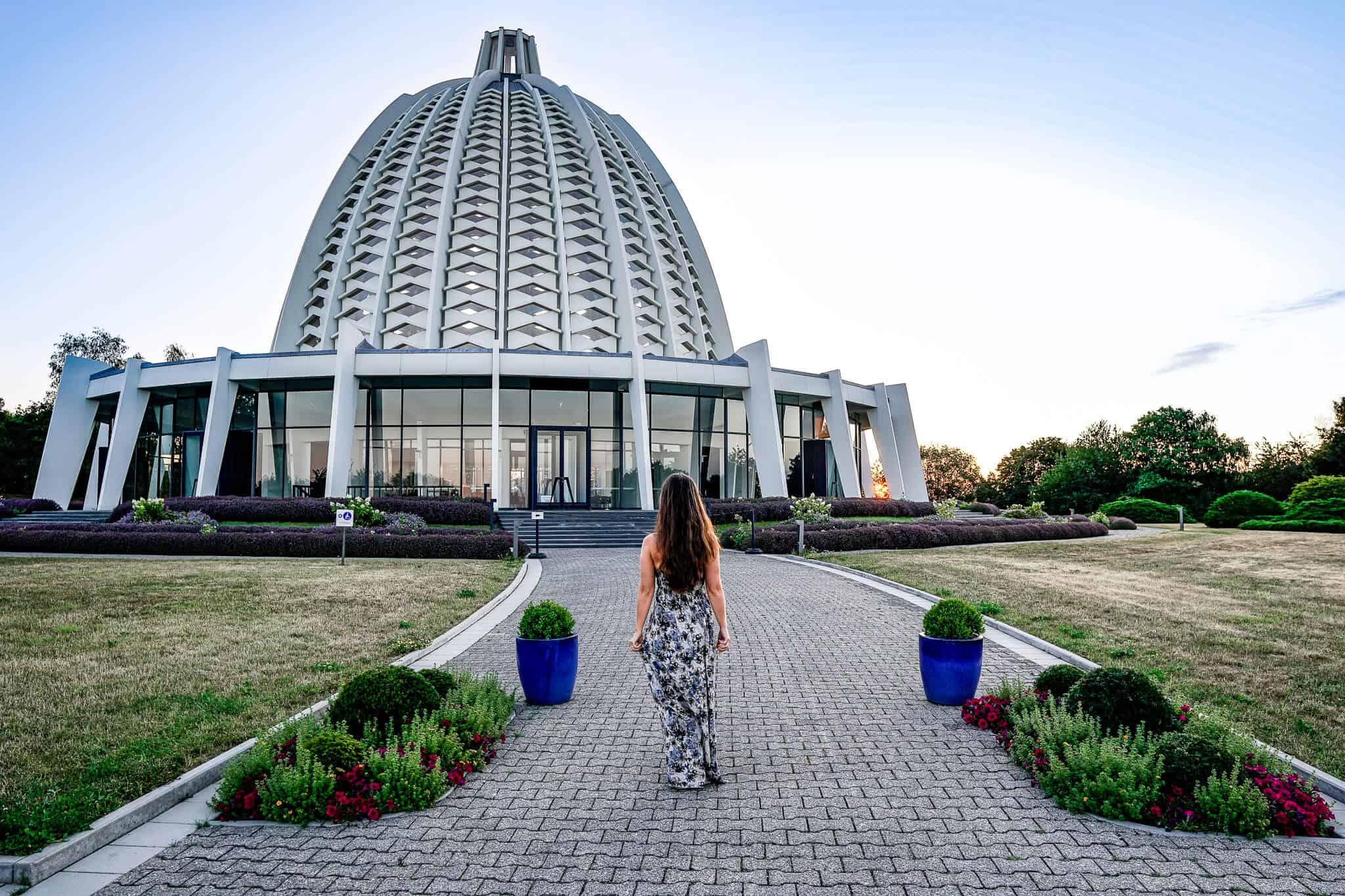 Barbara Bahai Haus der Andacht Sonnenaufgang