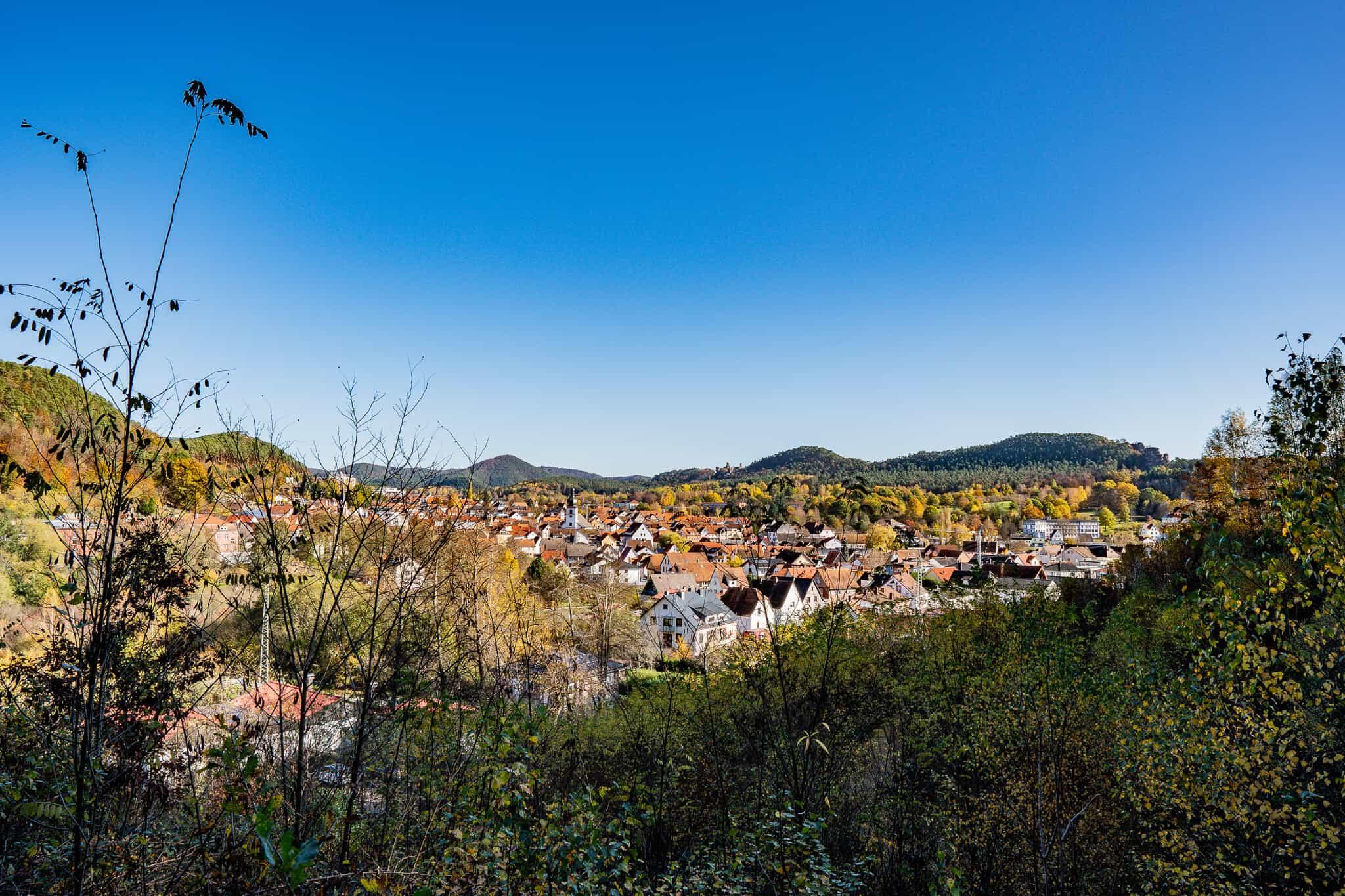 Dahner Felsenpfad Ausblick