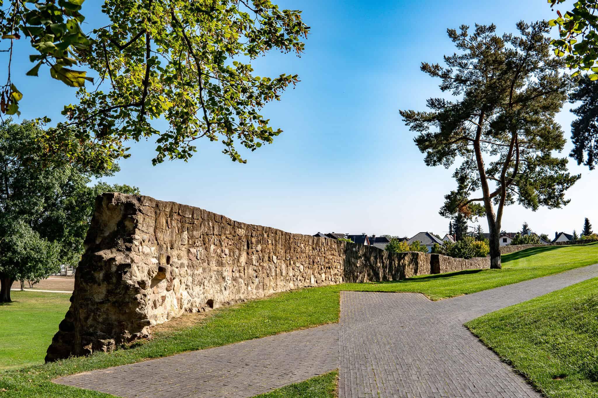 Klostermauern Kloster Lorsch