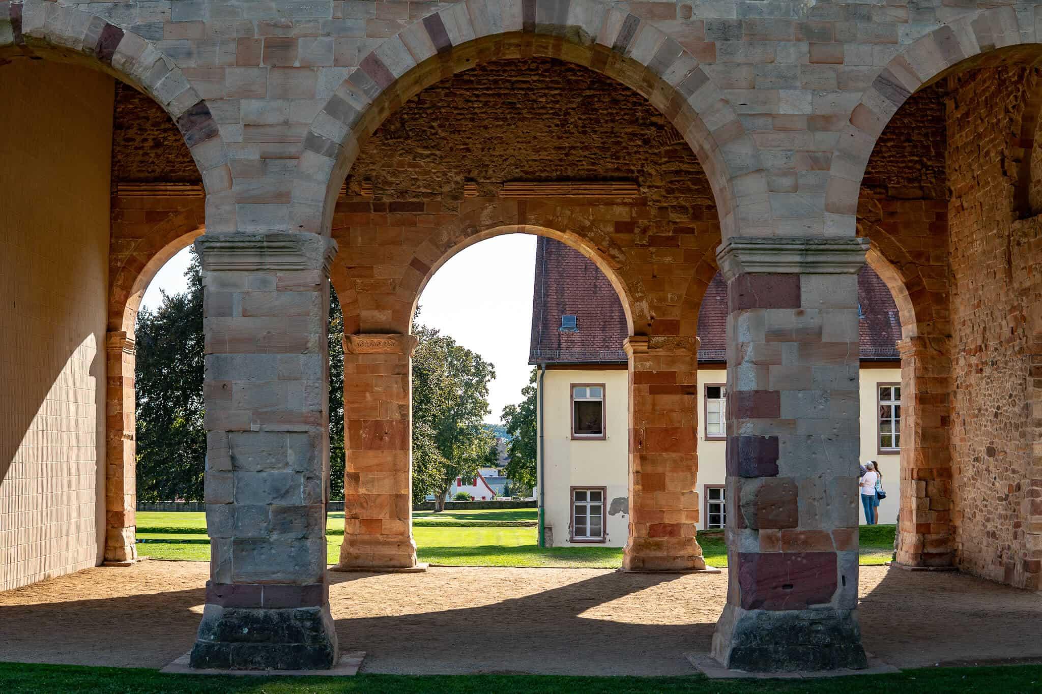Säulen der Königshalle