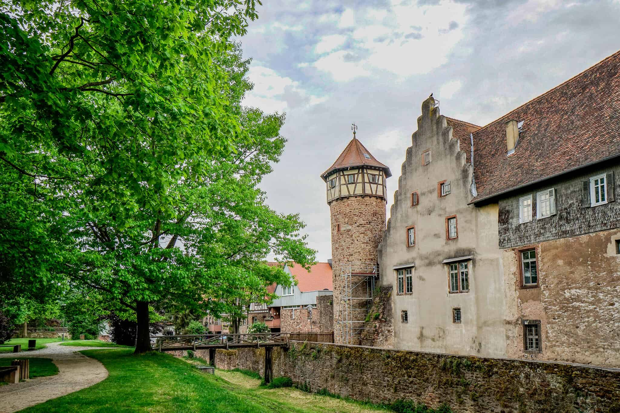 Diebsturm und Burg Michelstadt