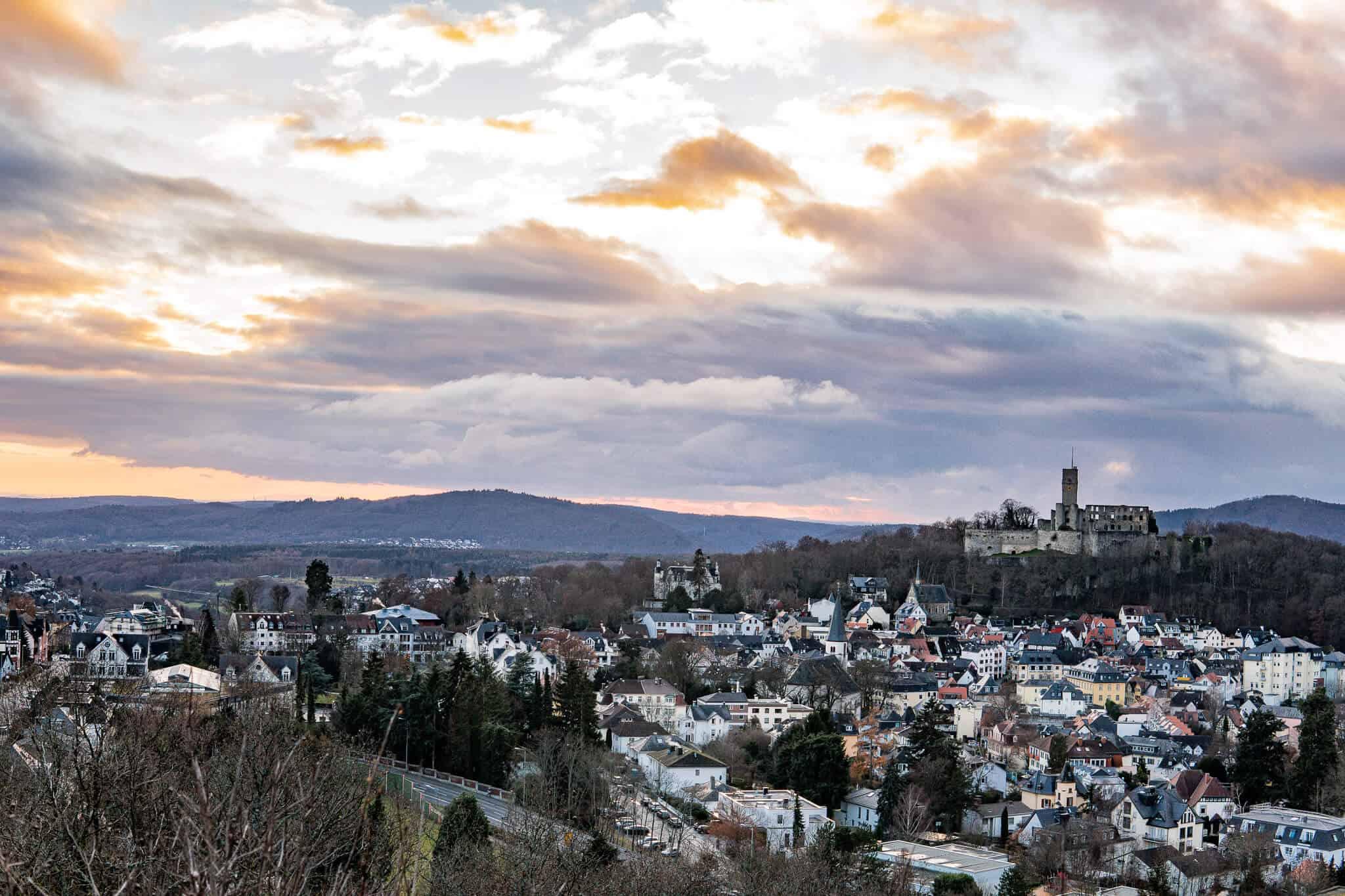 Hildablick Aussicht auf Königstein