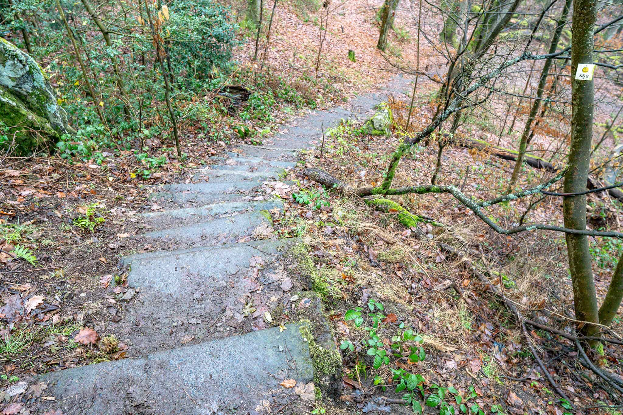Hildablick Treppe