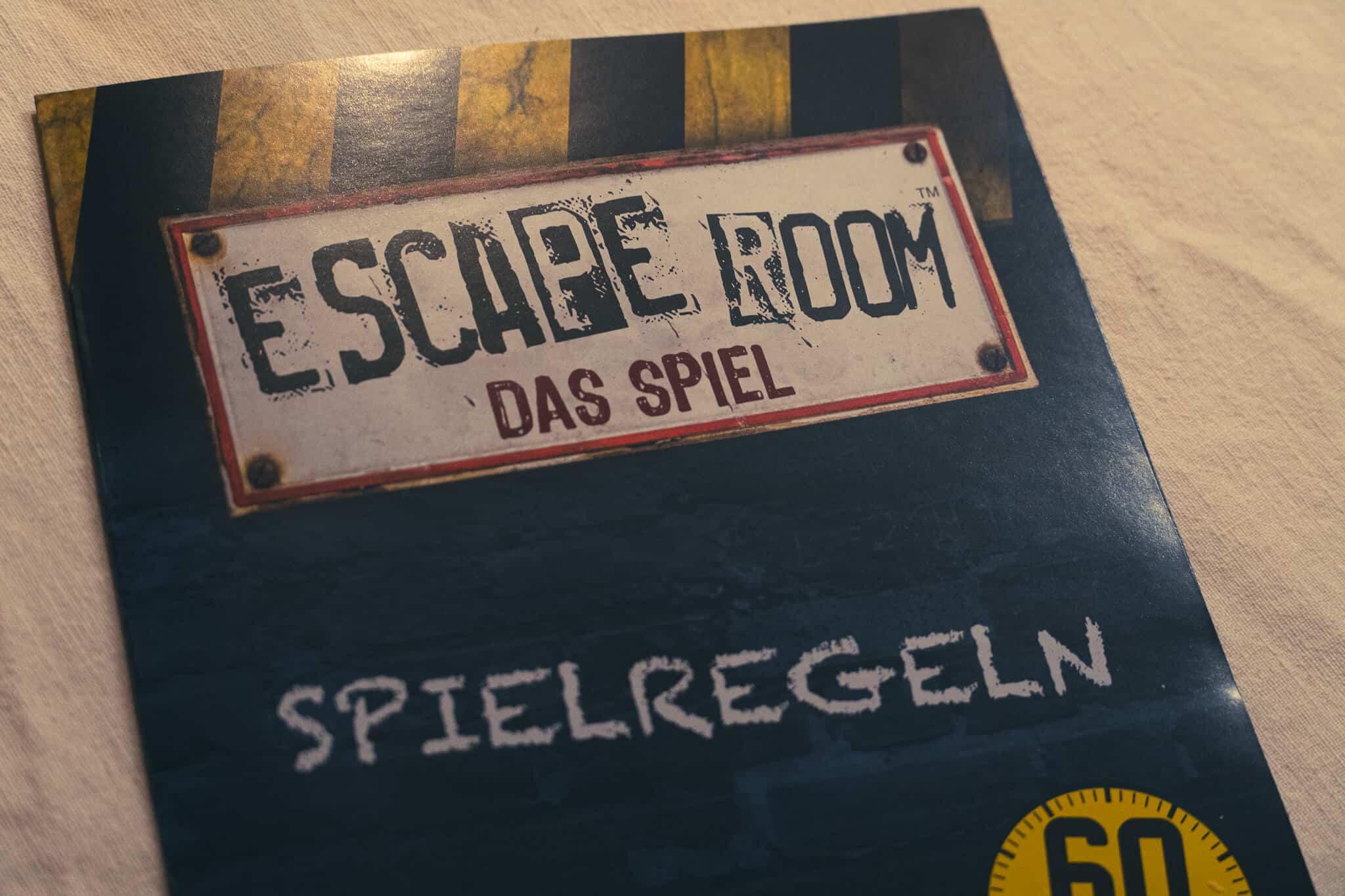 Escape Room Spielregeln