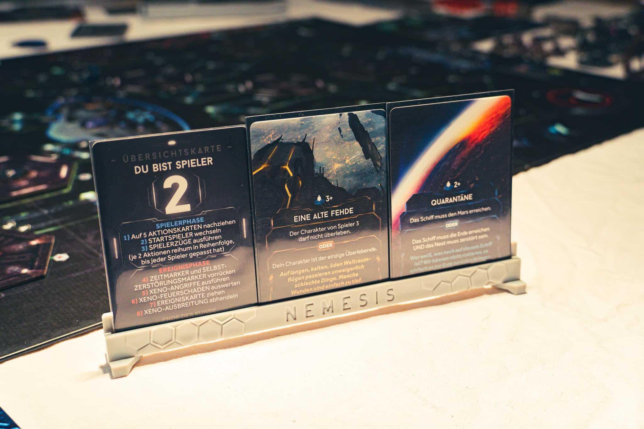 Nemesis Spielerkarten