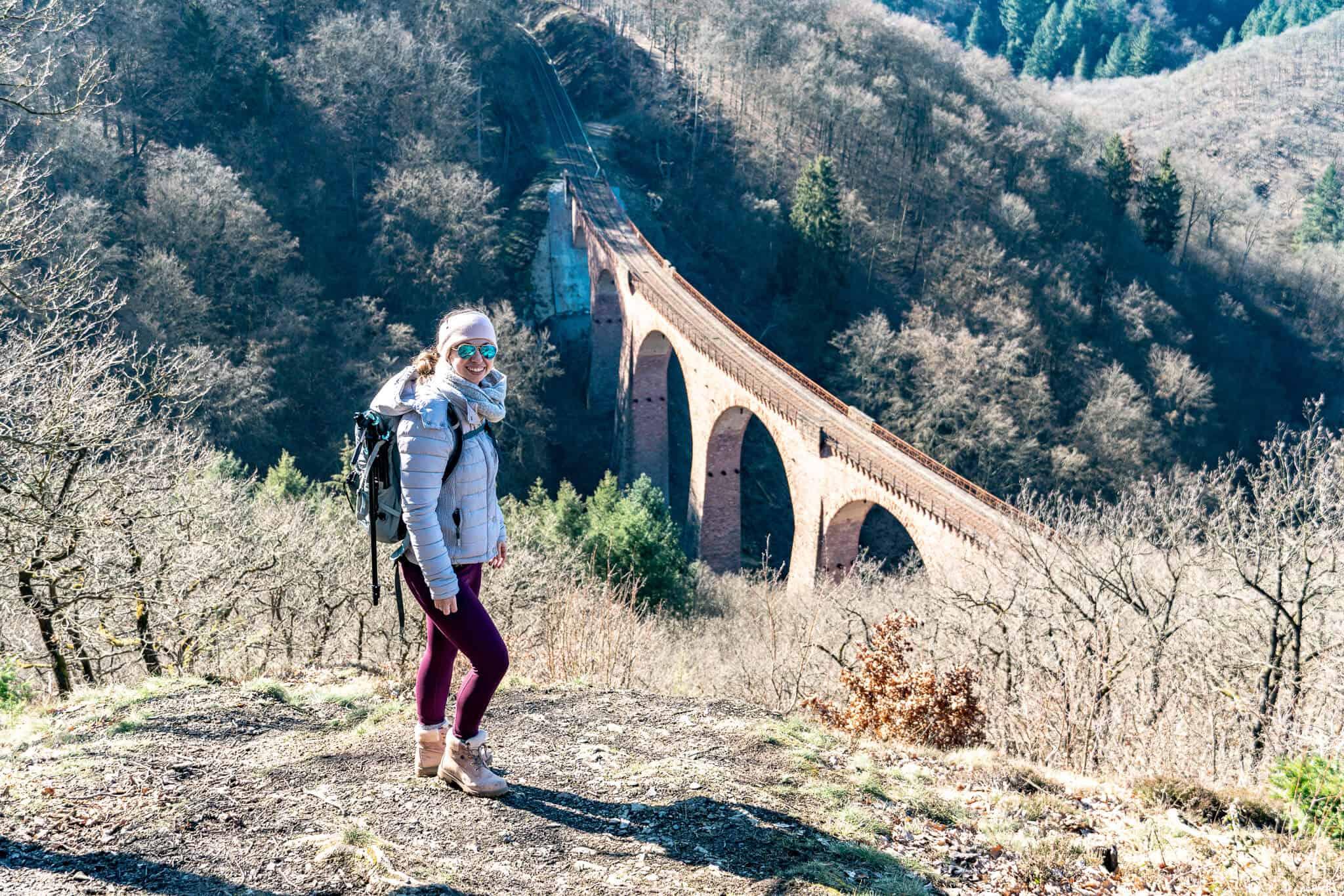 Barbara am Hubertusviadukt Traumschleife Elfenlay