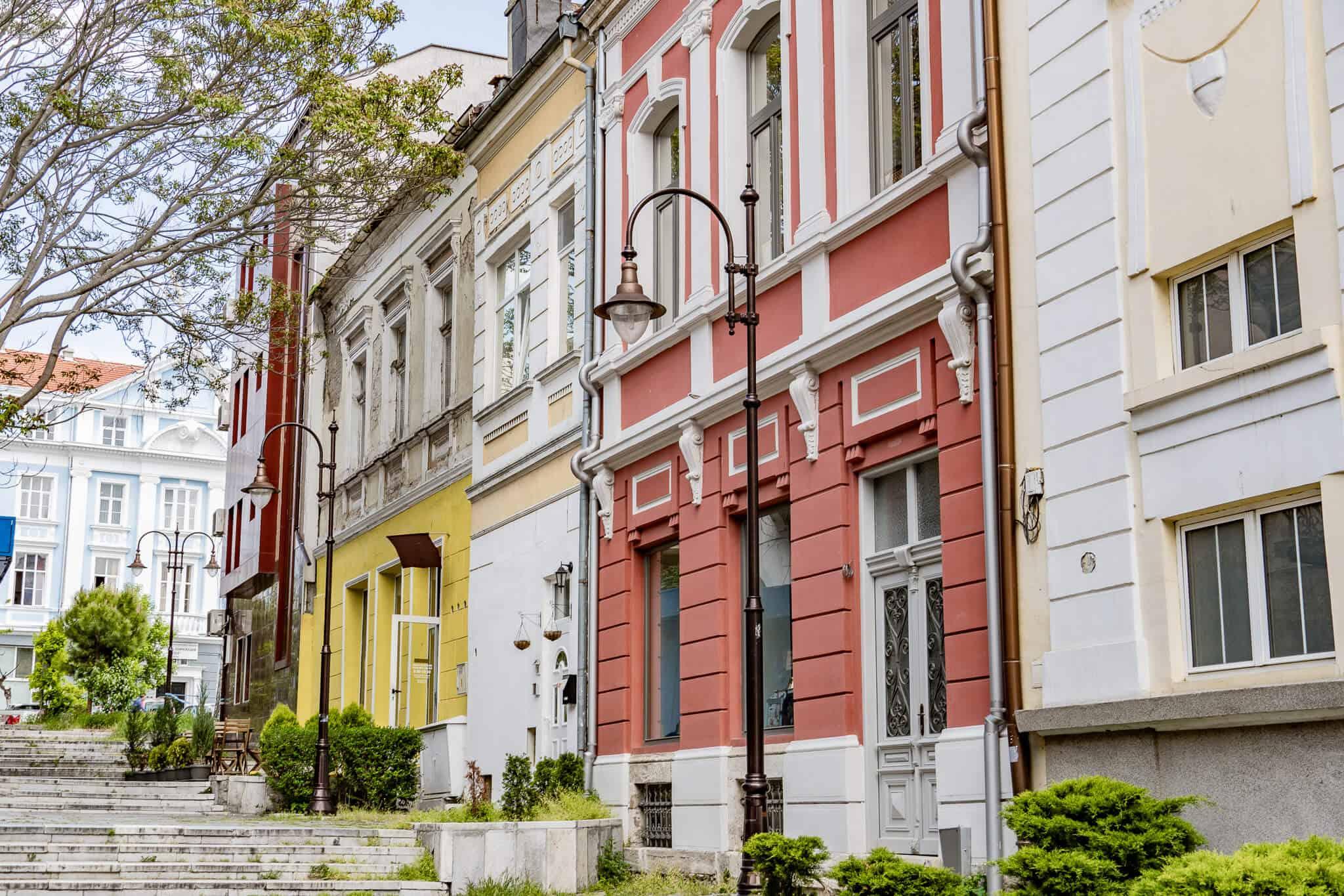 Gasse in Varna