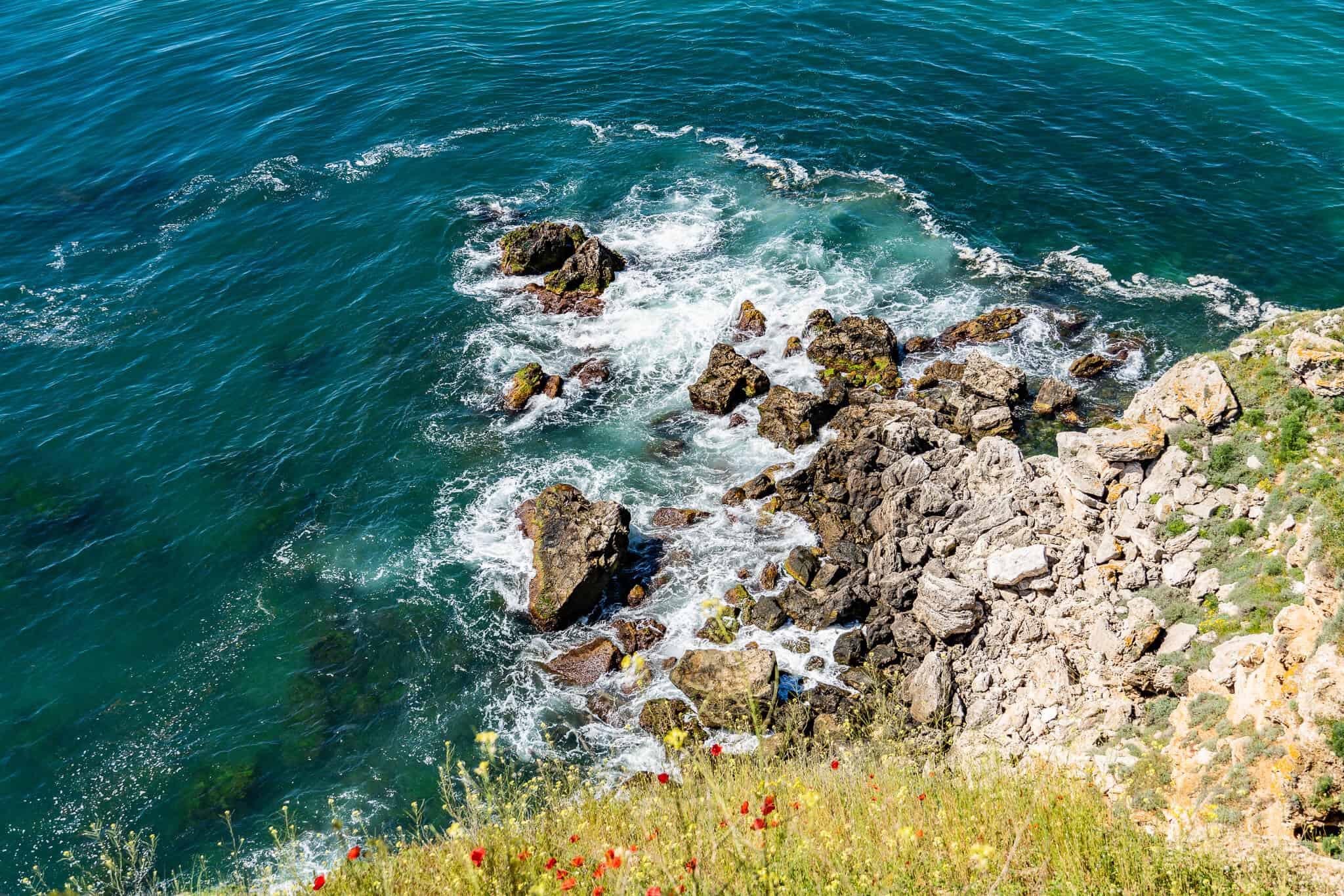 Klippen Kap Kaliakra