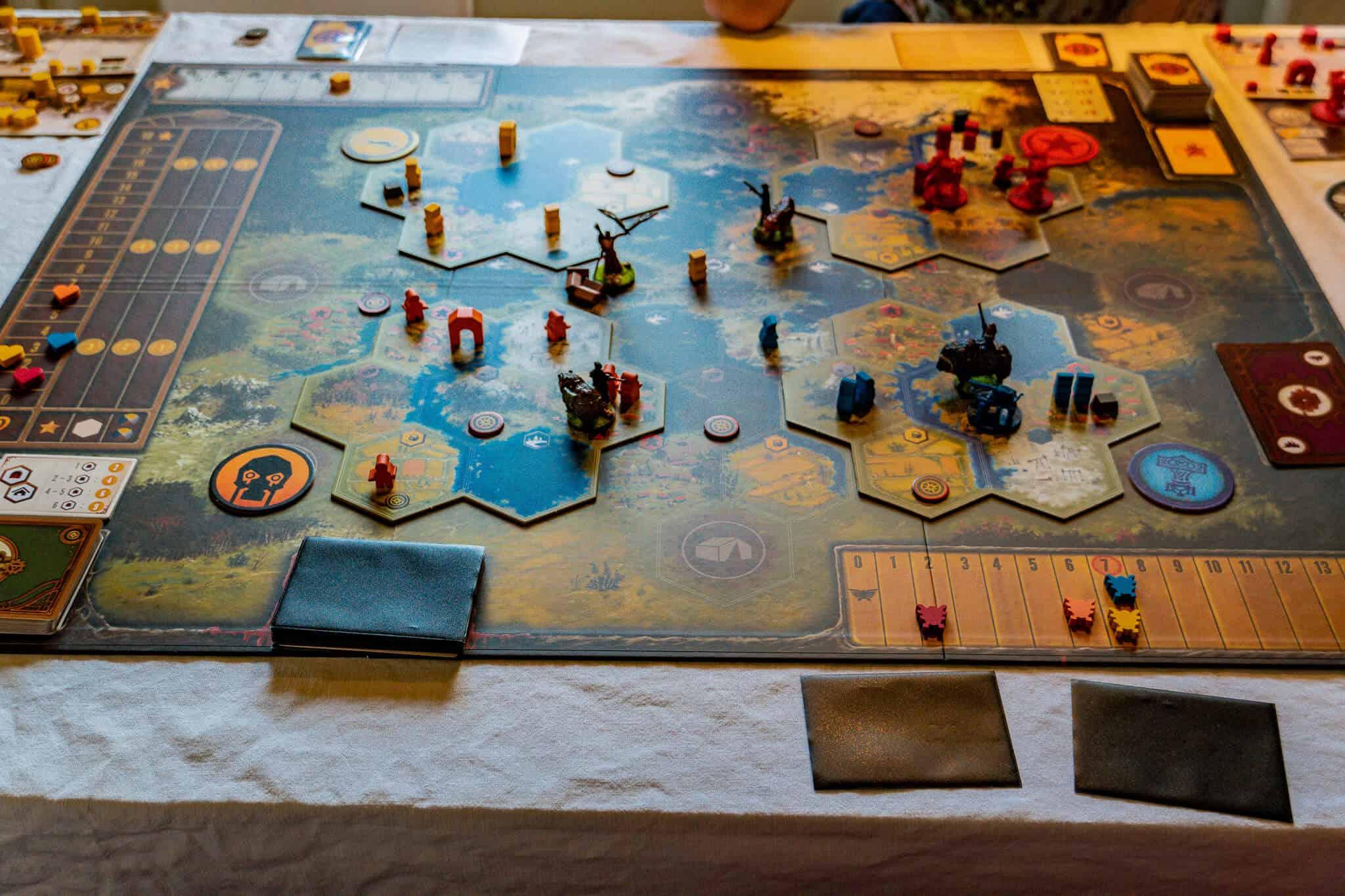 Area Control Spiele Scythe