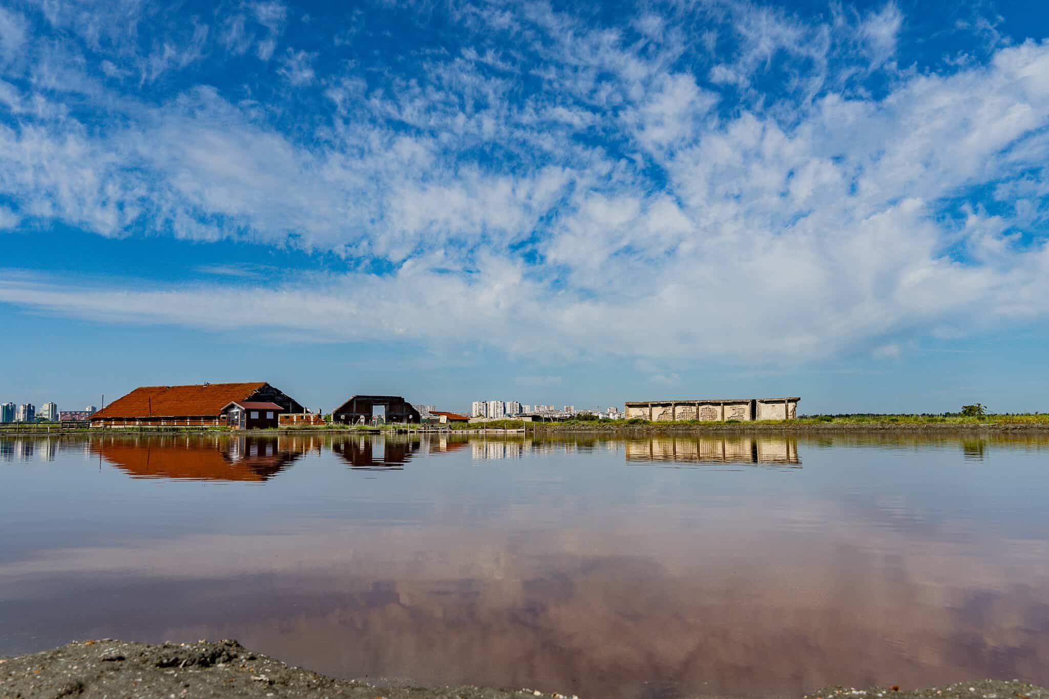 Spiegelung Atanasovsco Lake