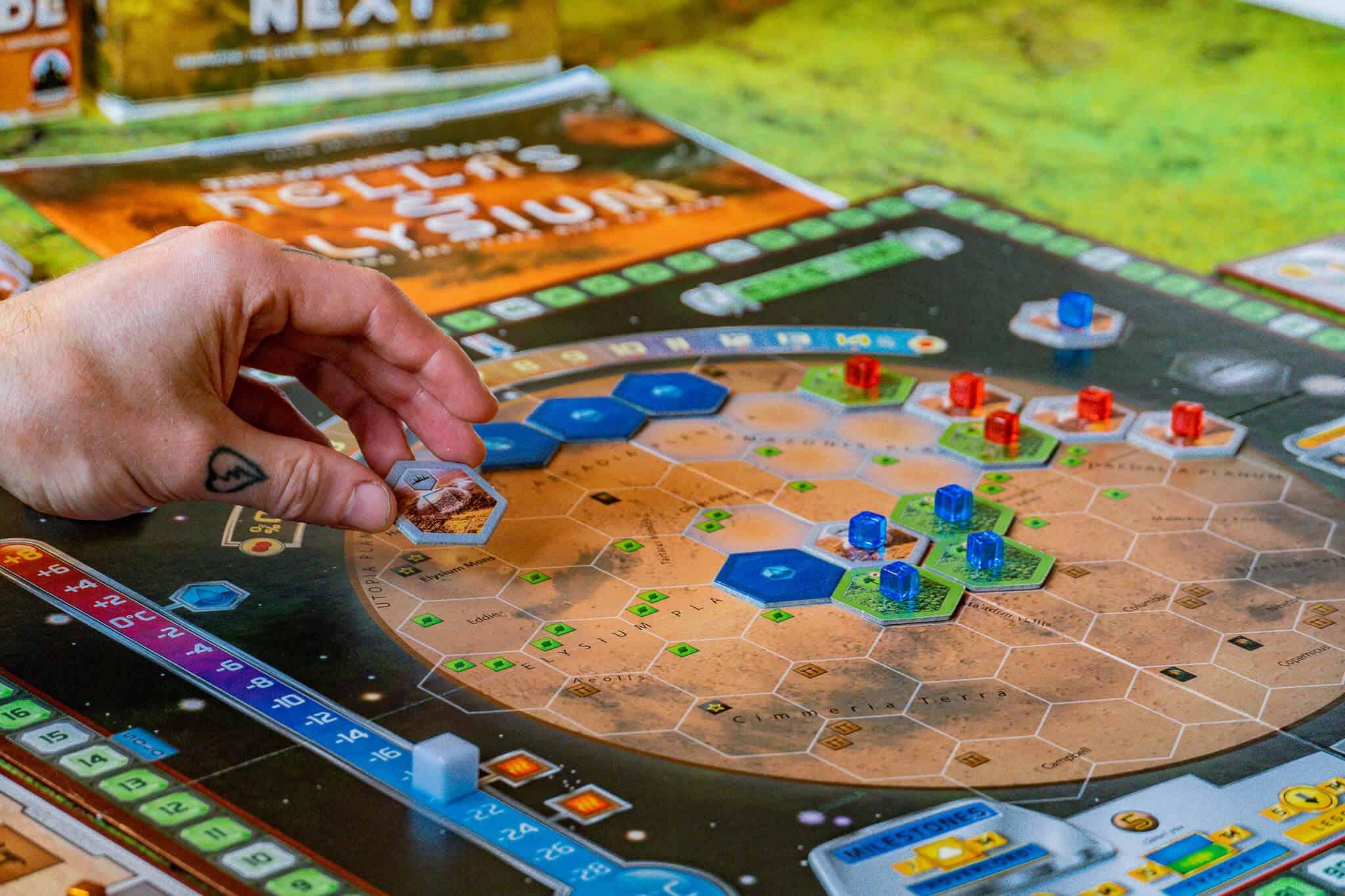 Terraforming Mars Ozeane, Städte, Wälder