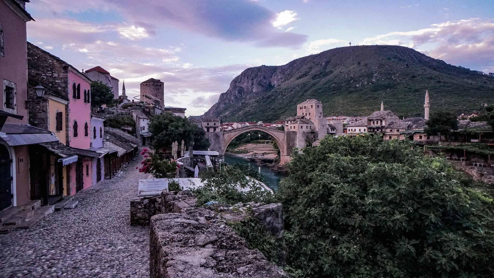 Altstadt und Stari Most Mostar