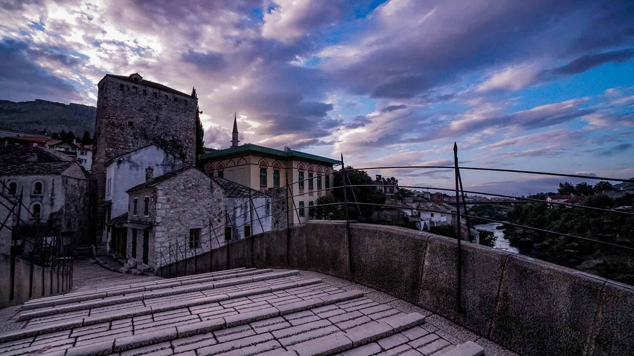 Auf der Stari Most Mostar