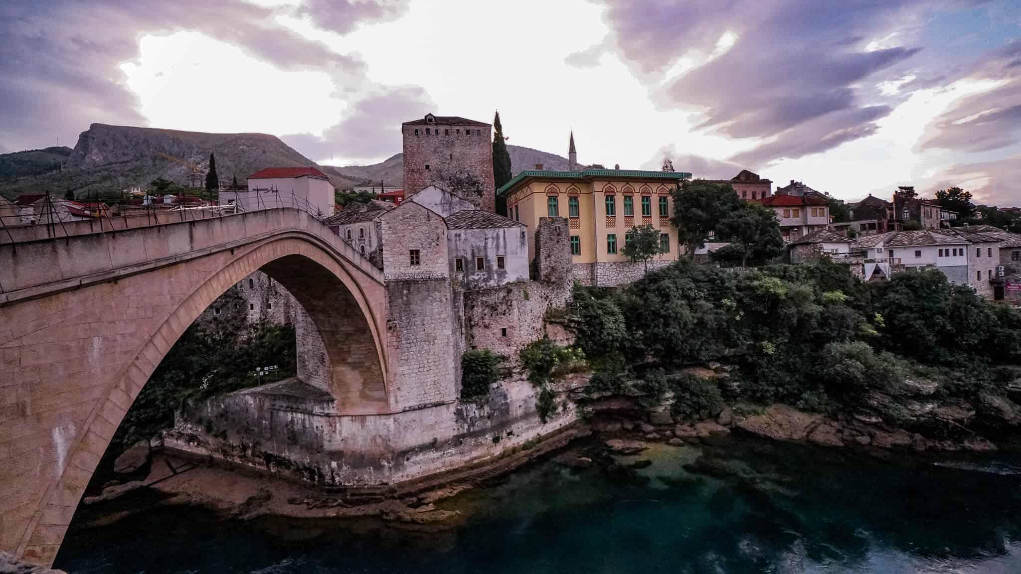 Blick auf Stari Most