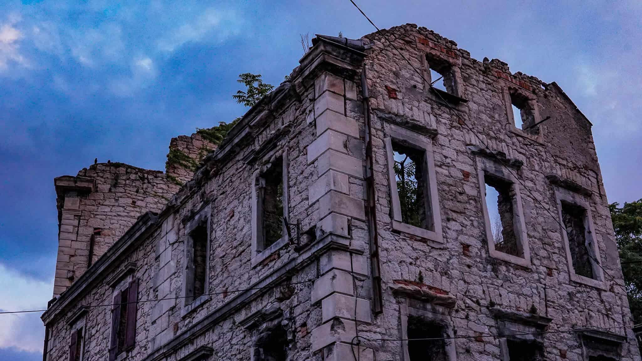 Ruine in Mostar